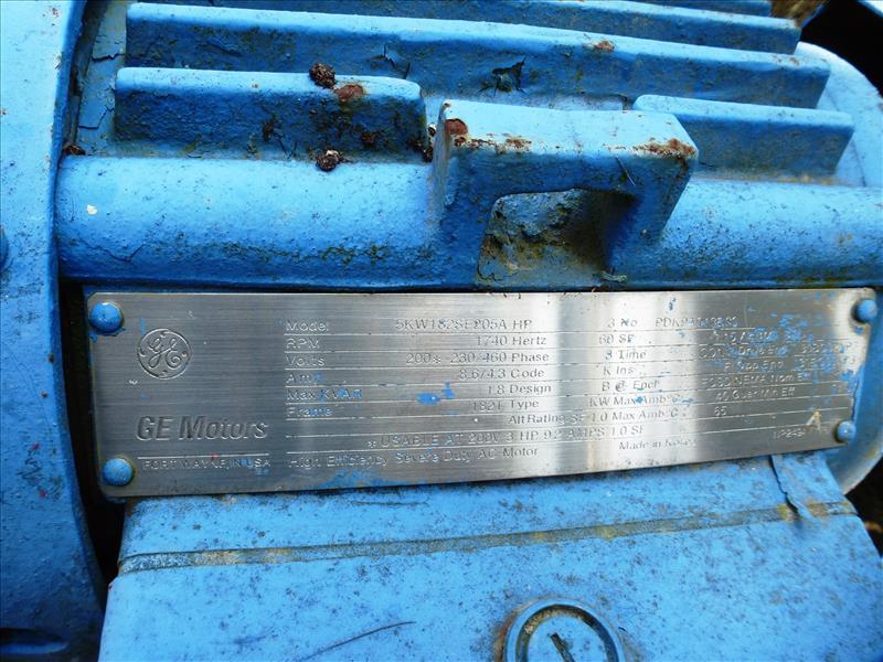 Lot 4 - Gorman-Rupp self-priming centrifugal pump, 3 h.p., mod. 13A2-B, ser. no. 47950