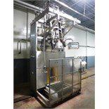 FMC s/s single-head aseptic bag filler, mod. AF-SH-200-SLIM, code 3566.429.211-016, ser. no. 9376