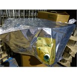 "lot of Goglio ""Fres-Co"" System 220-liter Flexgold aseptic bags, 920 x 1,575 mm., 1"" spout diam.,"