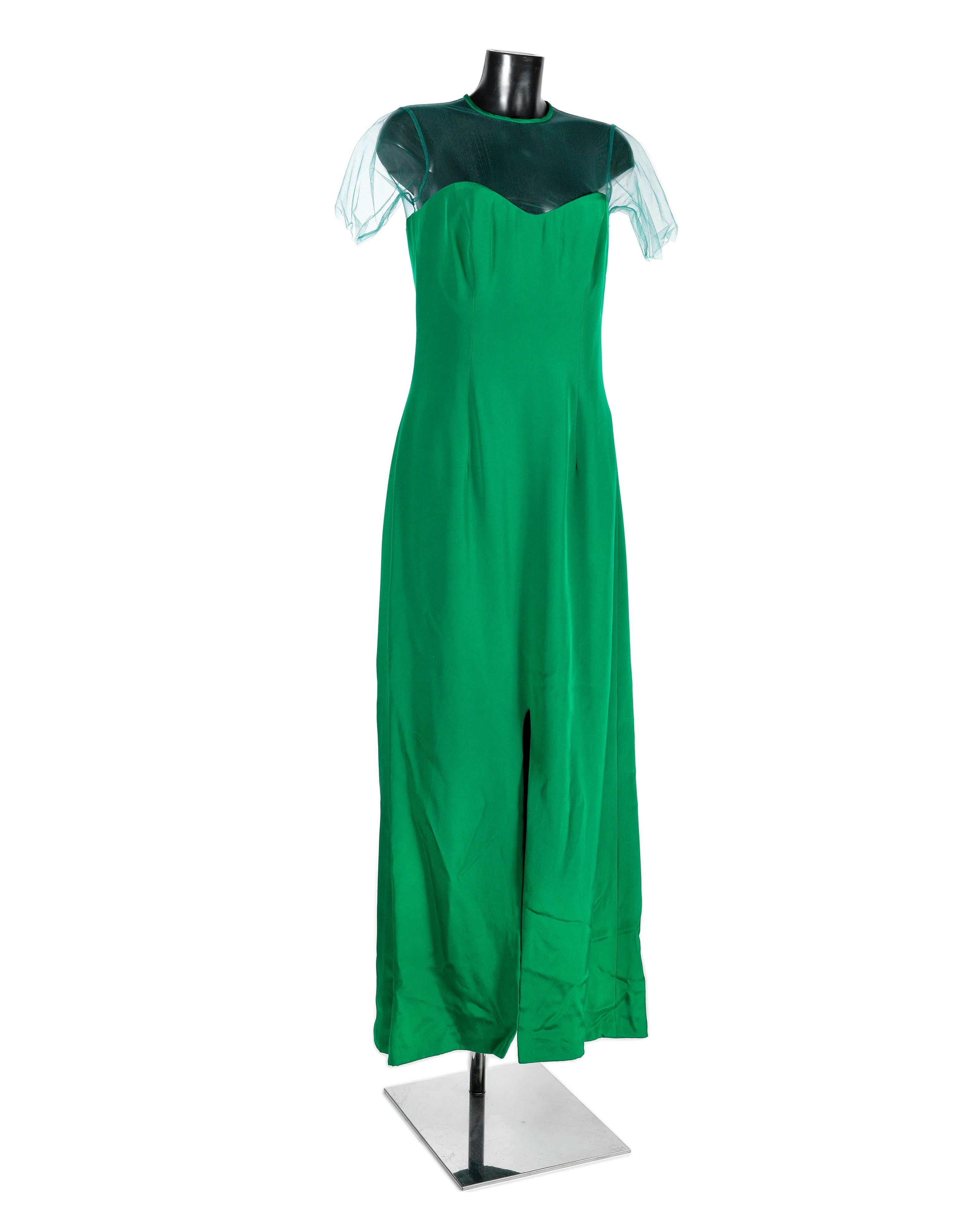The Children Act: A screen-used green concert gown worn by Emma Thompson for her role as 'Fiona M...