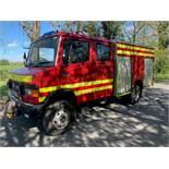 Mercedes Benz 814D 4 wheel drive fire engine Registration Number: P933 ATT Date of Registration: