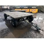 Ex four wheel trailer (Ex MOD)