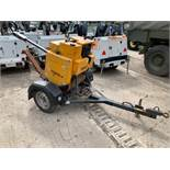 Benford Terex 1-71 HEY single drum pedestrian roller Year: 2014 S/N: E5KX0112 Recorded Hours: 71.9