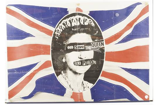 God save the queen sex pistols poster