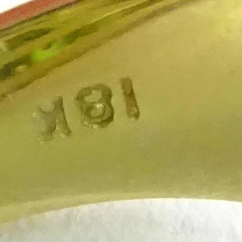 Approx. 22.0 Carat Emerald Cut Tourmaline, 2.0 Carat Diamond and 18 Karat Yellow Gold Ring. - Image 6 of 6