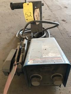 Lot 52 - Wire Feeder, Miller Mdl. 70 Series, S/N ME320073U