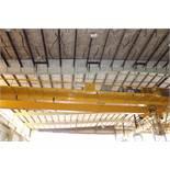 Overhead Bridge Crane, Zenar 30 ton cap. bridge, dual box beam, top riding, with Zenar Milwaukee
