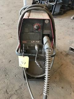 Lot 37 - Wire Feeder, Lincoln Mld. LF-72 with carriage, S/N U1121100758