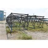 Lot of (6) Boom Sections for American Crane 9260 Crawler Crane, Model Heavy 77: (2) 50', (1) 40', (