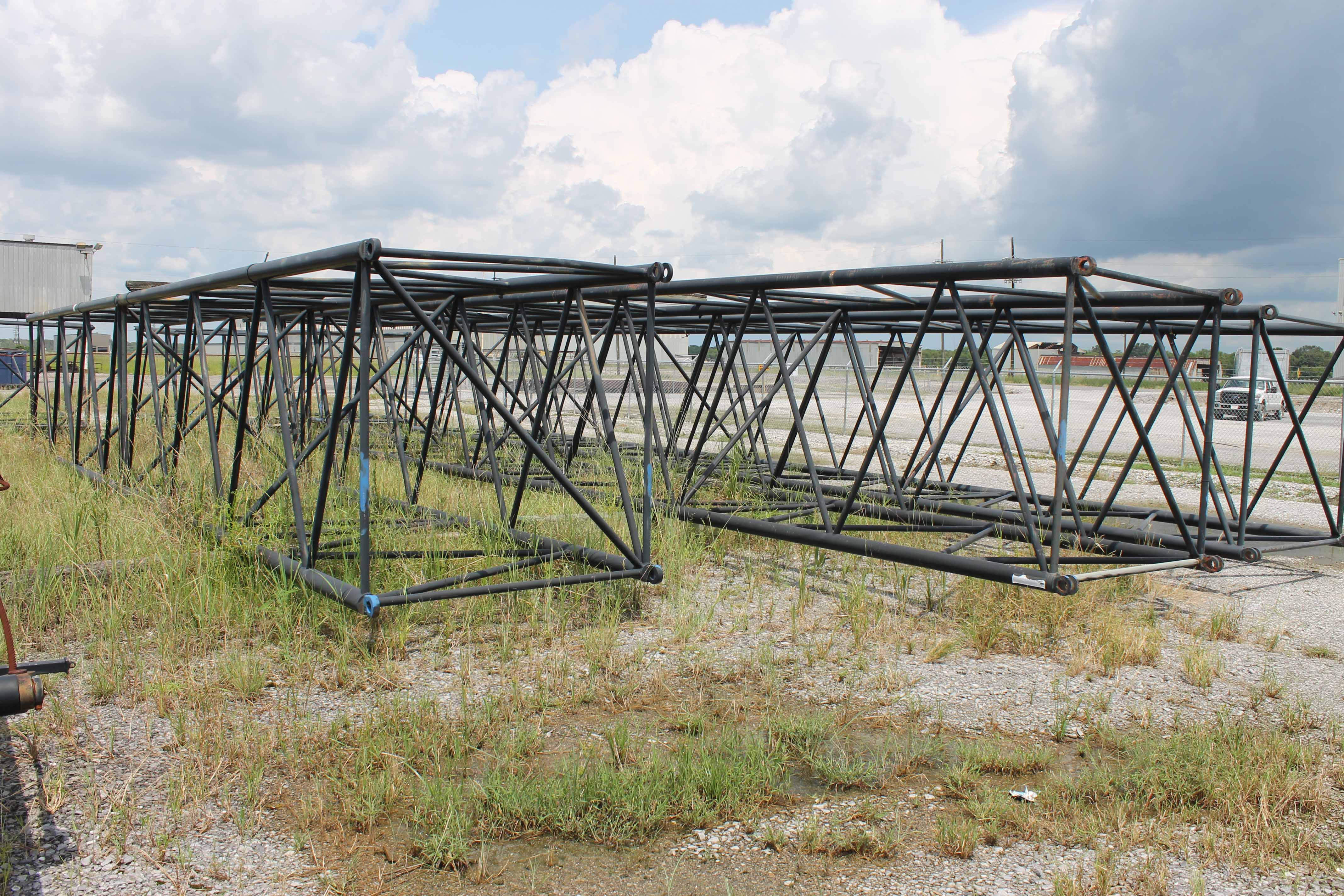 Lot 2 - Lot of (6) Boom Sections for American Crane 9260 Crawler Crane, Model Heavy 77: (2) 50', (1) 40', (