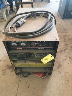 Lot 35 - Welding Power Source, Lincoln Mdl. DC600 S/N U1010114549