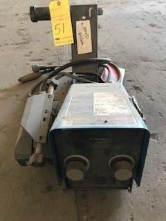 Lot 51 - Wire Feeder, Miller Mdl. 70 Series, S/N ME320074U