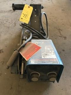 Lot 48 - Wire Feeder, Miller Mdl. 70 Series, S/N ME320068U