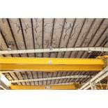"Overhead Bridge Crane, Shaw Box, 15 ton cap. X 71'4"" span, pendant control, dual box beam, top"
