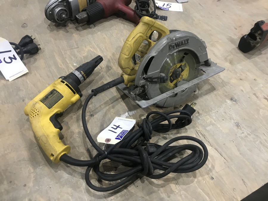 Lot 14 - CIRCULAR SAW & DRILL