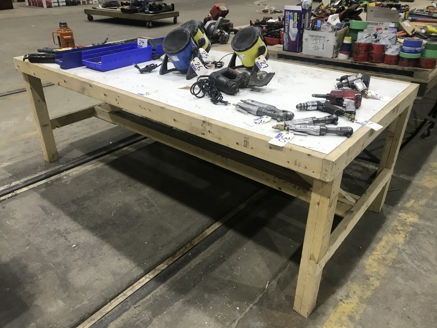 Lot 36 - WORK TABLE