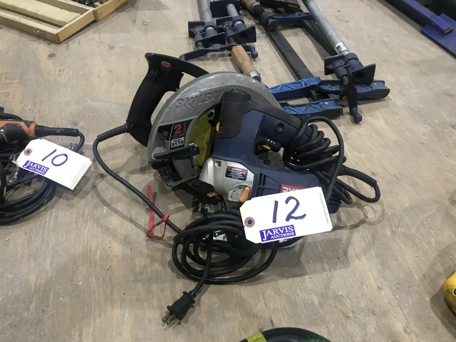 Lot 12 - CIRCULAR SAW & JIGSAW
