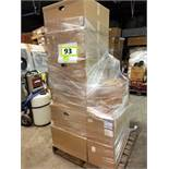 Whole pallet air filters: (22) New filters. Grainger#: 5W925(6); 5W923; 6B793; 4C406(2); 4C408(2);