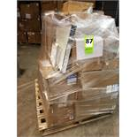 Whole pallet air filters: (27) New filters. Grainger#: 5W894; 6W742(4); 2DBW2; 5W921(2);11Z801;