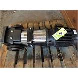 New Water Pump; 10 HP; 230/460V; 3525 RPM; Type: CR 64-1-1A-G-A-E-H00E (Located Elk Grove, IL)