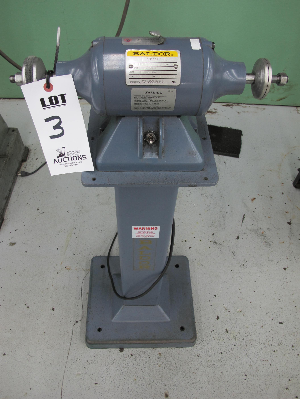 Baldor Buffer  Catalog Number 111  1  3 Hp  115 Volts  3600 Rpm