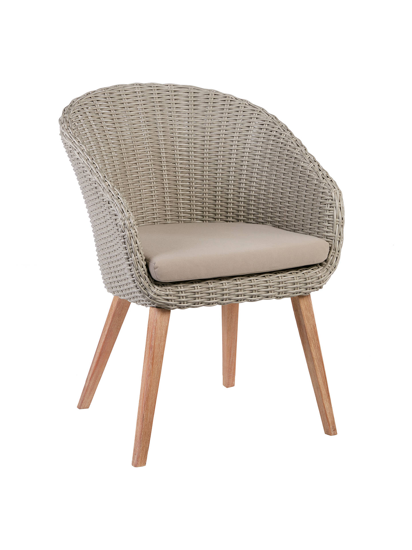 Lot 30569 - V Brand New To John Lewis Sol Four Seater Round Garden Table & Chairs ISP £999 (John Lewis) Stock