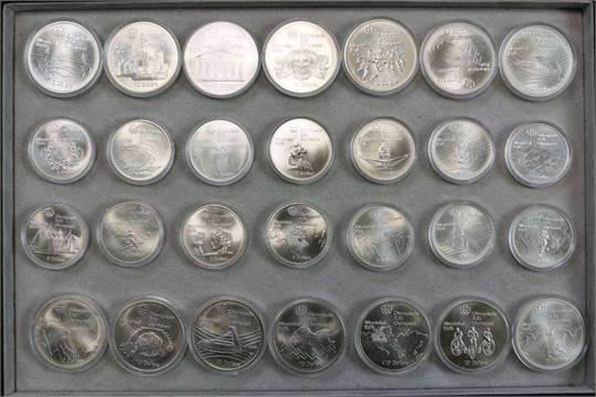 Kanada Silber Gedenkm252nzen Komplettsatz Quotolympiade