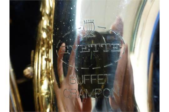 Fantastic Alto Saxophone Evette Buffet Crampon Complete With Case Download Free Architecture Designs Scobabritishbridgeorg