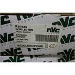 3 X NVC Lighting NK5 2 X 3 /LED/RC.IP65/NM3 2 X 3W LED NM3 + Remote Control Emergency Twinspot 220-