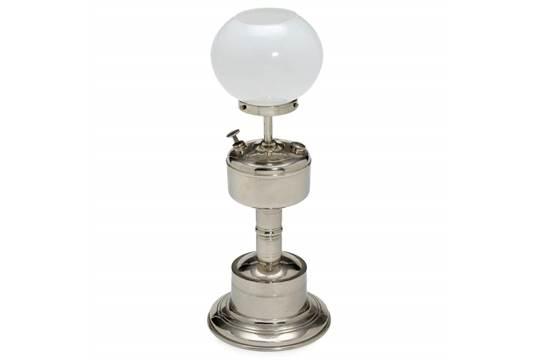 Carolus carbide table lamp c 1910 type 137 nickel plated tin carolus carbide table lamp c 1910 type 137 nickel plated tin glass shade overall height 14 aloadofball Choice Image
