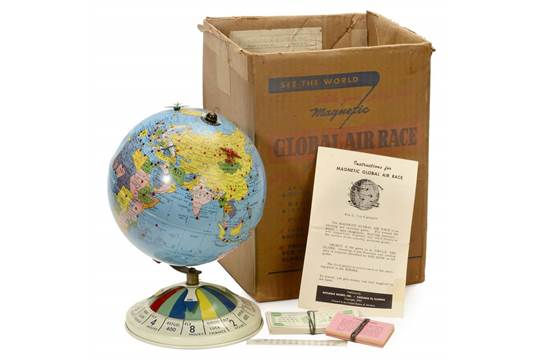 Once I had my errors fixed, the diagram dated my globe to the range.