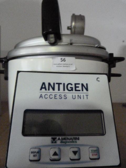 Lot 56 - *A.Menarini Diagnostics Antigen Access Unit Model DC2008INTL *S/N DC08I-1133* (Powers Up