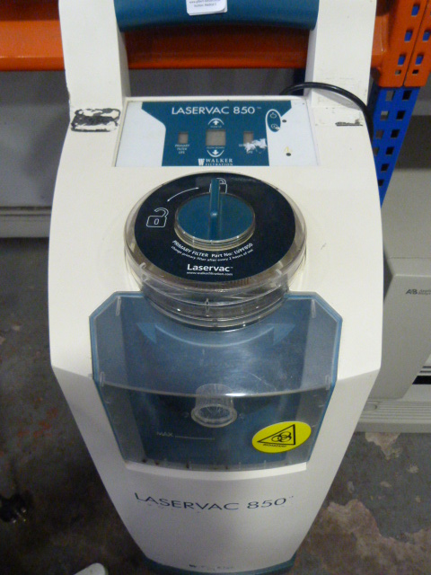 Lot 46 - *Walker Filtration Laservac 850 With Footswitch (Powers Up)