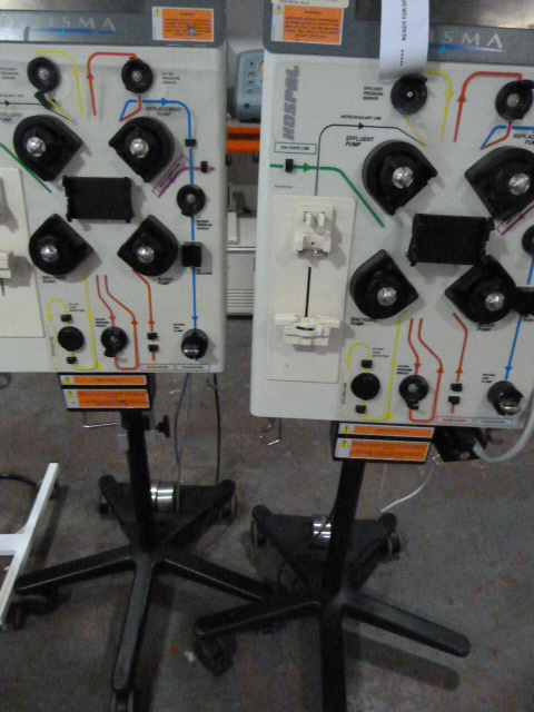 Lot 14 - *2 x Prisma CRRT+TPE Dialysis Machines (Both Power Up with malfunction errors- requires service