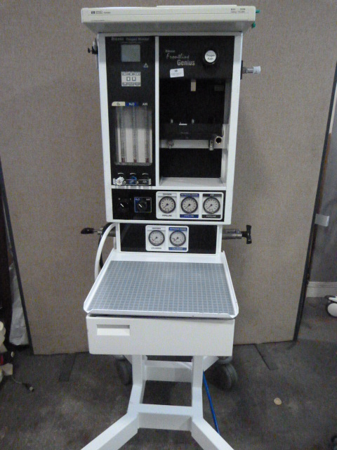 Lot 38 - *Blease Frontline Genius Anaesthesia Machine Model WUK3SIUTM with Hoses * SN 1680302