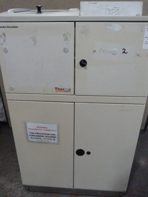Lot 2 - *Thermo Scientific Excelsior ES Tissue Processor. Powers up.