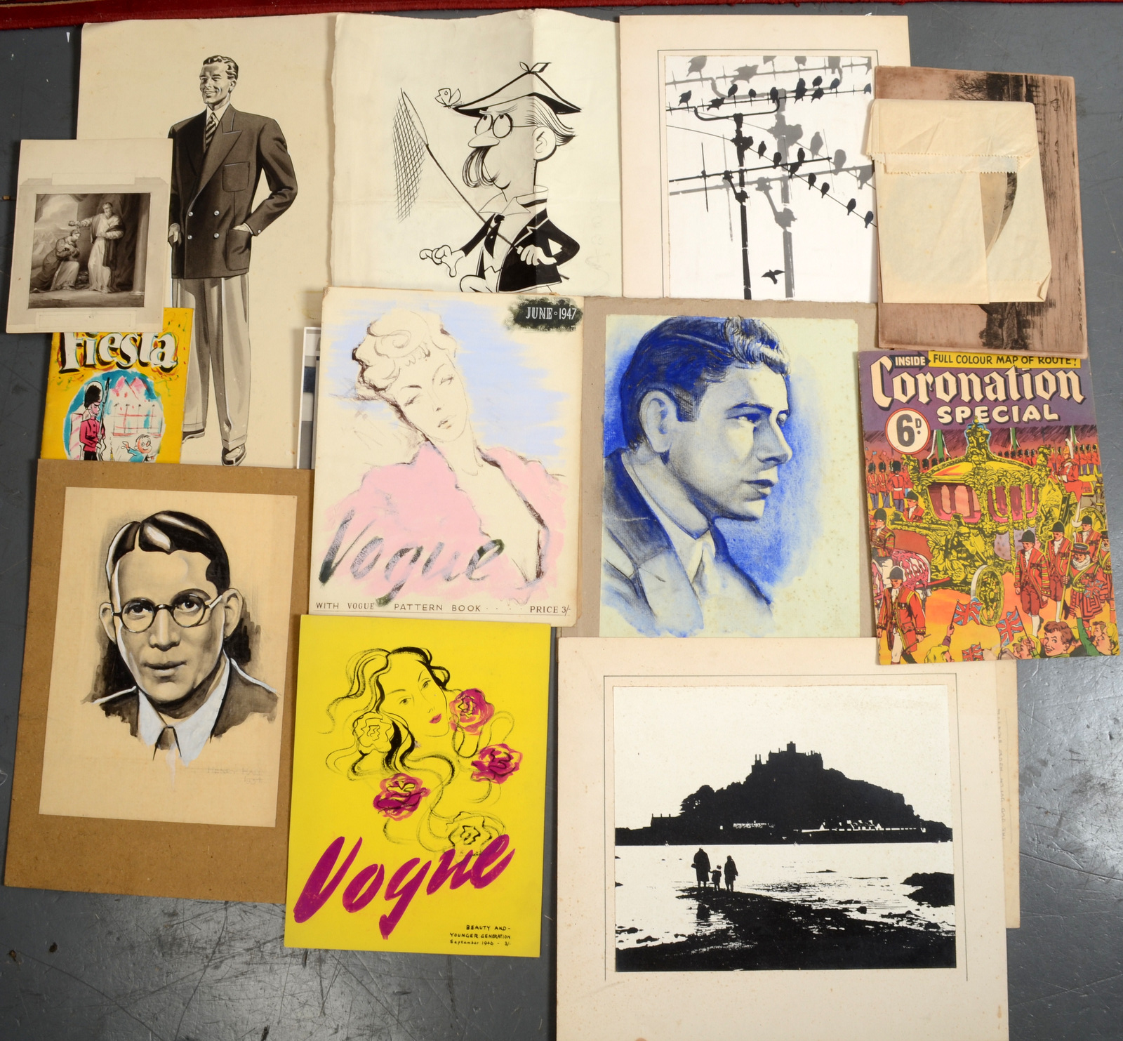 Lot 18 - BAYLY-SOUSTER GROUP Various artworks