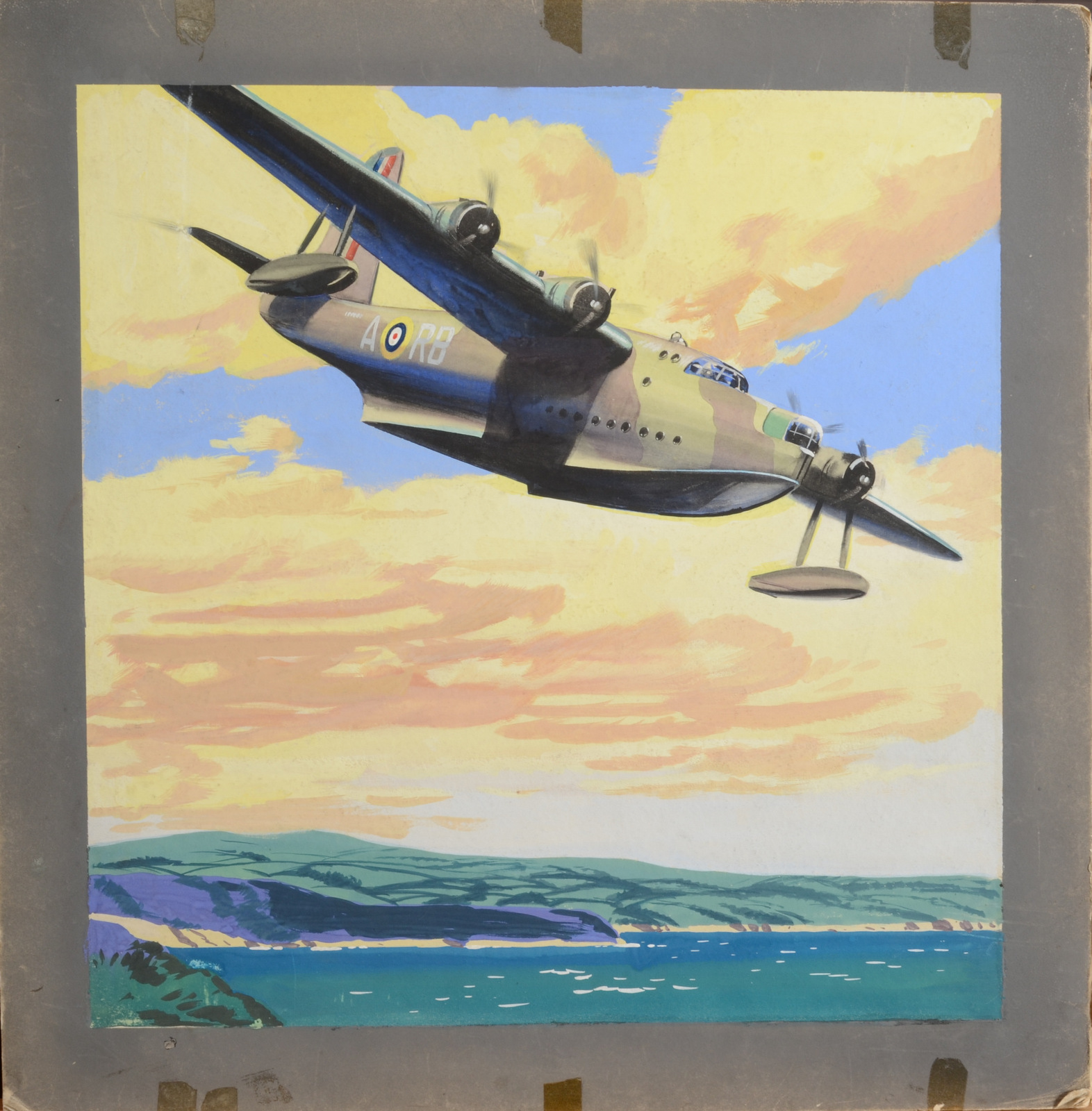Lot 17 - BAYLY-SOUSTER GROUP Artwork for WWII posters