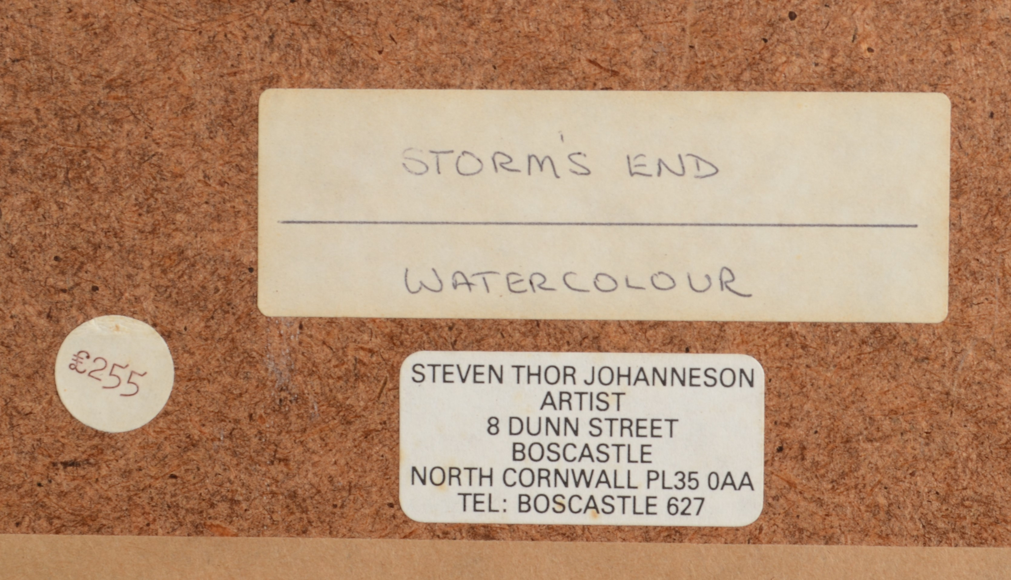 Lot 30 - STEPHEN THOR JOHANNESSON Storms End, Treyarnon Bay,