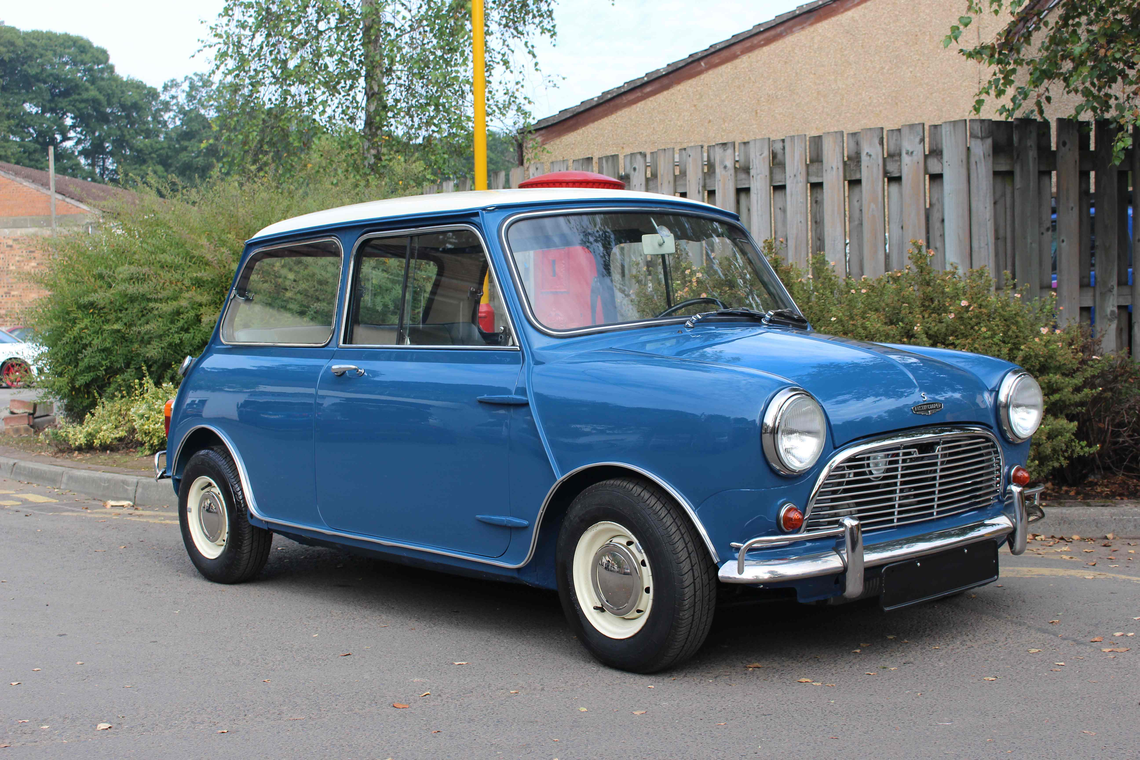 Lot 324 1966 austin mini cooper s mk i 1275cc registration tba chassis number