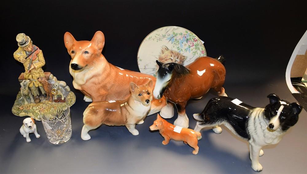 A Coopercraft model, of a Collie dog