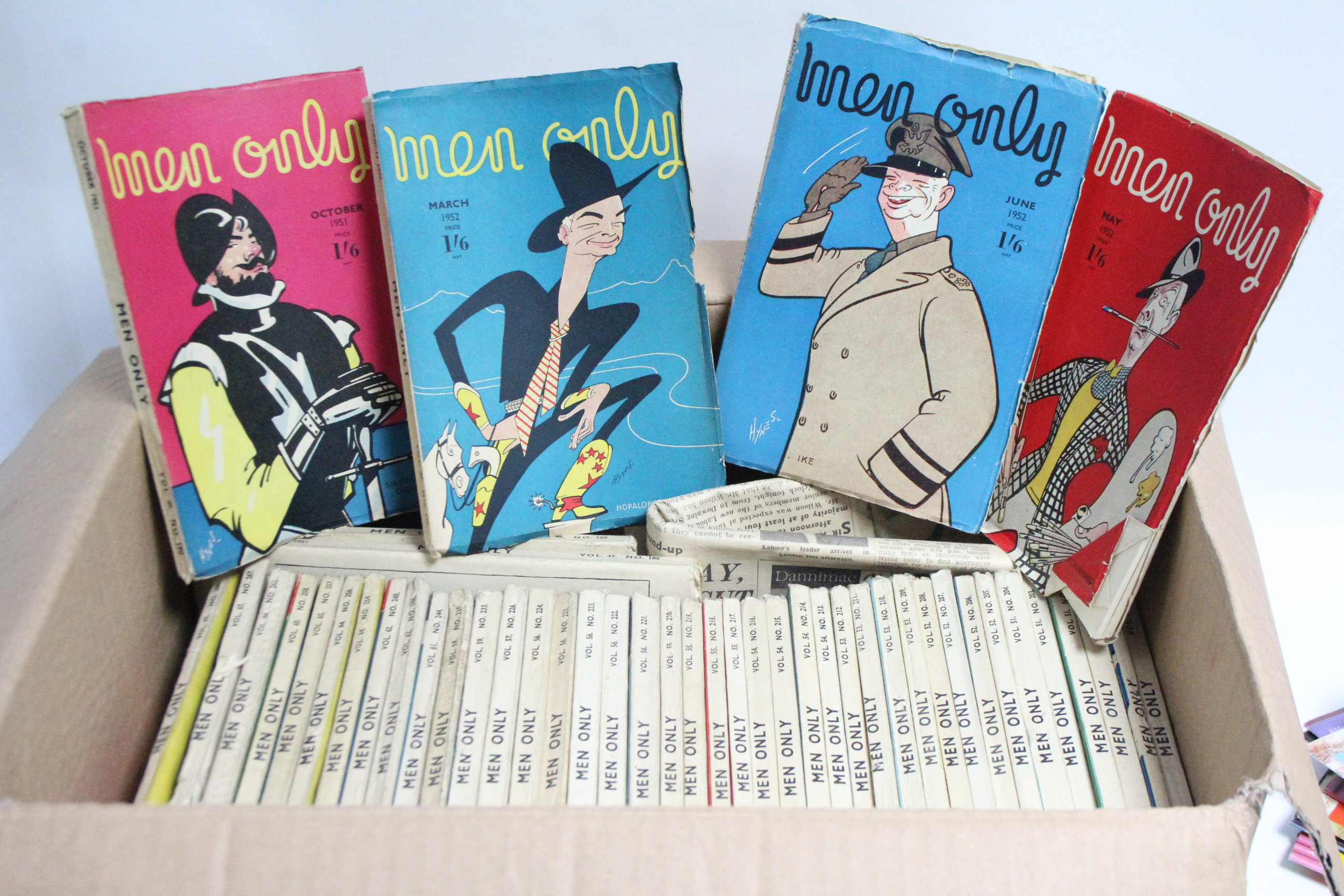 Lot 88 - Four vintage Playboy calendars (1969, 1970, 1971, & 1977); three ditto Mayfair calendars (1974,