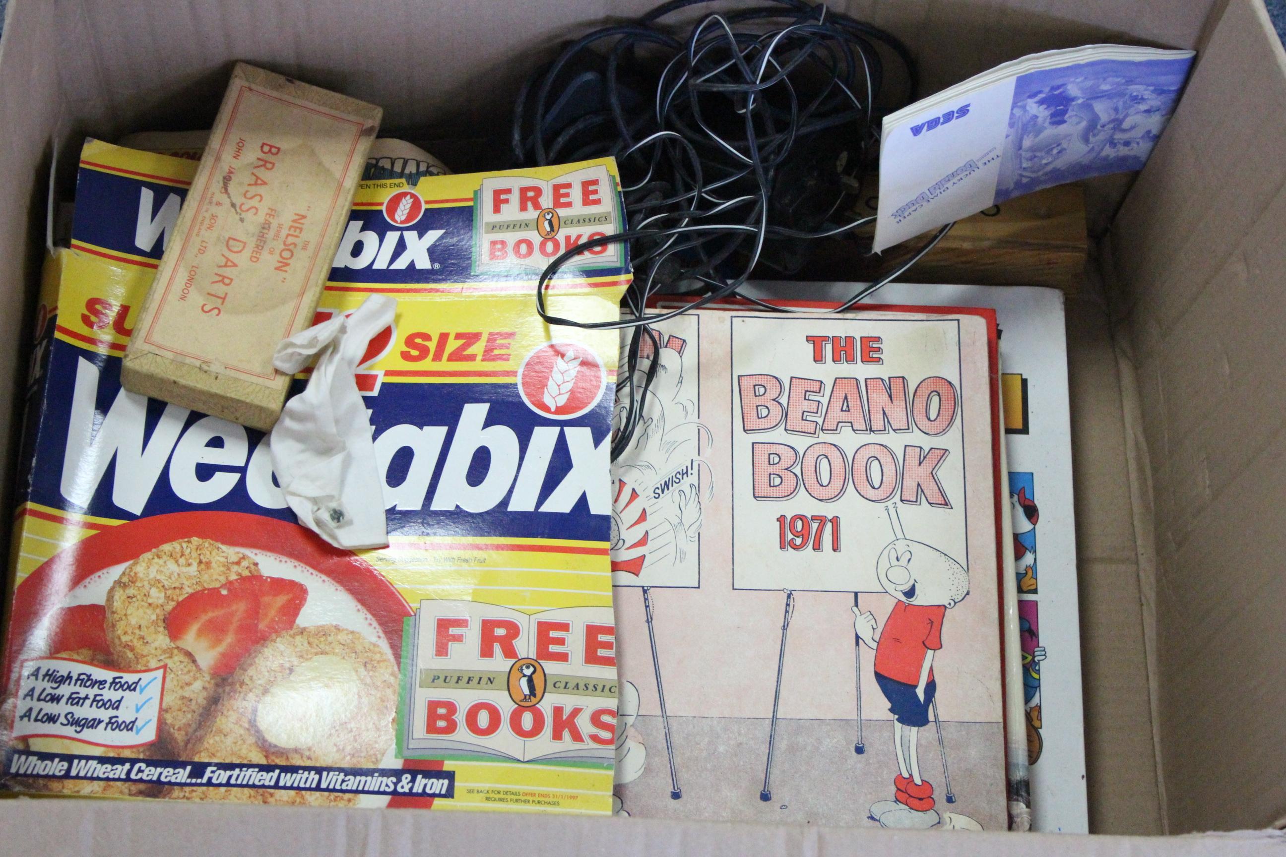 "Lot 304 - Two 1964 Palitoy Action Man figures; various ditto accessories; various comics; an Atari ""2600"""