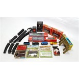 "A Tri-ang Hornby electric train set ""The Blue Pullman"" boxed; & various other items of ""OO"" gauge"