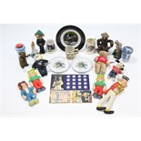 Various items relating to space travel & the moon landing; together with various items relating to