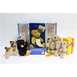 """A Merrythought Limited Edition """"Titanic Bear"""" (Ltd. Ed. No. 2311-5000), with certificate, boxed;"""