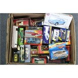 Fifty various scale models, boxed & un-boxed.