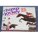 """A Tri-ang """"Jump Jockey"""" electric steeplechase game; & a Merit """"Electric Derby"""" horse racing game"""