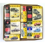 Twelve various Vanguard scale model vehicles, all boxed.