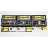 """Three Vanguards Special Limited Edition sets """"Classic Cars of The 1960's"""" (Ltd. Ed. No. 0107/"""